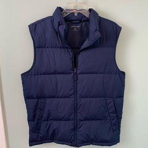 Lands End Down Puffer Vest Size Medium